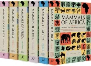 """""""Mammals of Africa"""" book series"""