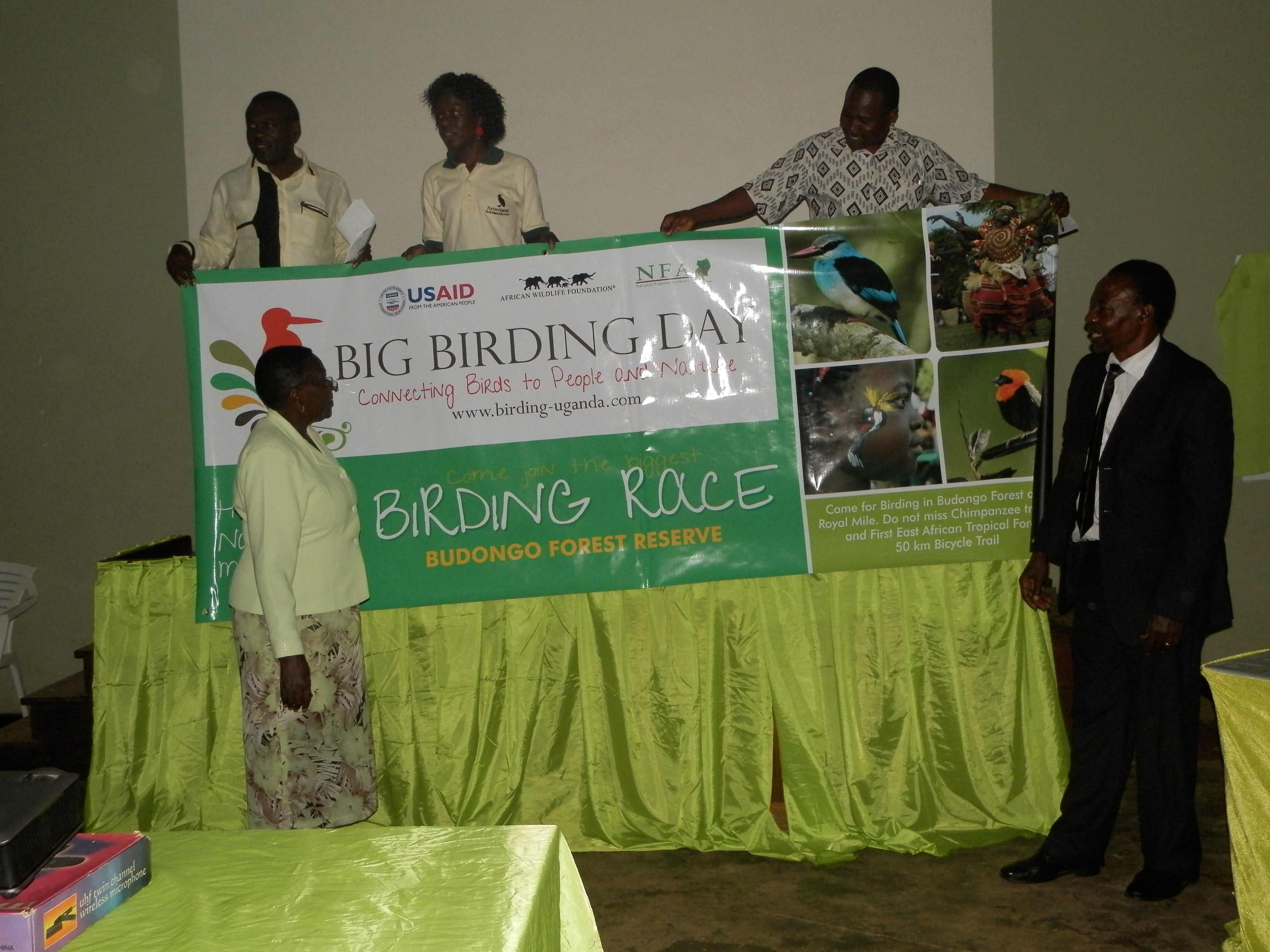 Big Birdin Day Launch at the Uganda Museum