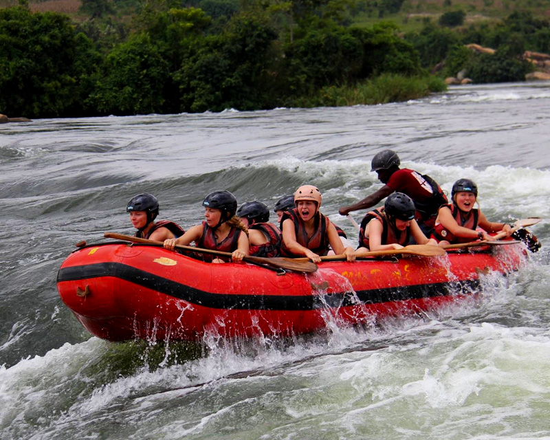 2 Days Jinja and White water rafting tour with a visit to the Source of the Nile, Sezibwa Falls, Mabira forest and Boat Ride at the Source of the Nile
